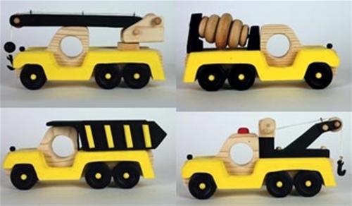Cherry Tree Toys Construction Vehicle Set Plans
