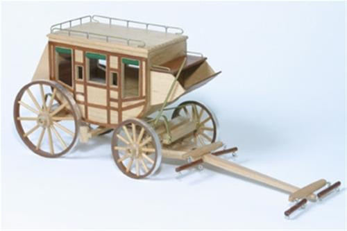 Cherry Tree Toys Stage Coach Woodworking Plan.