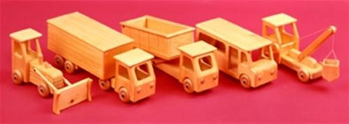 Five Fun Ones Woodworking Toy Plan