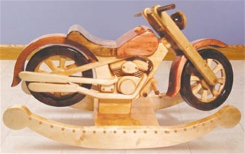 Sherwood Roarin' Rocker Woodworking Plan.