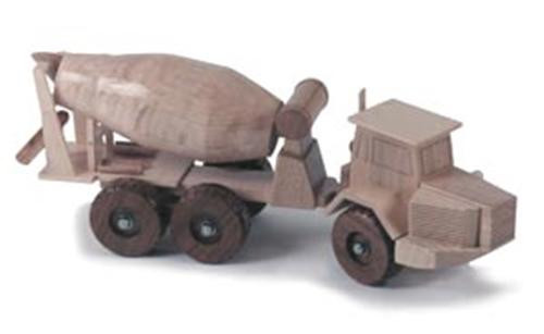 Cement Mixer Toy Truck Plan