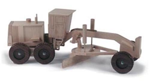Cornerstone Designs Inc. Road Grader Woodworking Plan.