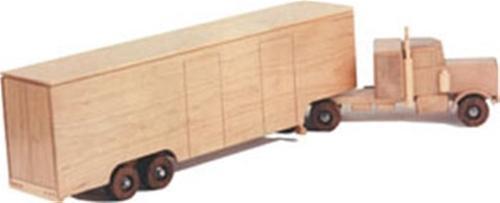 Peterbilt Moving Van Plan