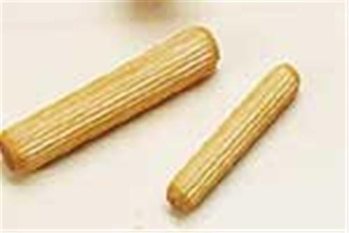 Cherry Tree Toys 1/4 x 1 1/2 Grooved Dowel Pins