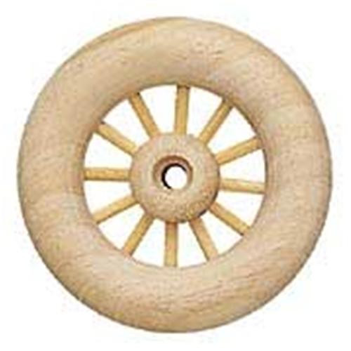 Cherry Tree Toys 3 Spoked Wood Toy Wheels