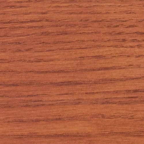 The Saman spice stain when its applied to wood.