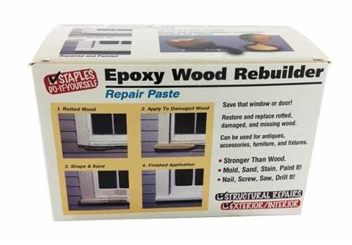 Epoxy Wood Rebuilder - 16 oz