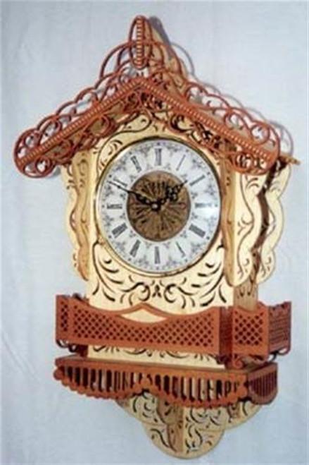 Wildwood Designs Commander Scroll Saw Clock Plan