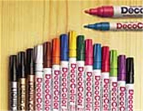 Uchida of America 30 Piece Paint Pen Set will cover instantly just like poster paints.