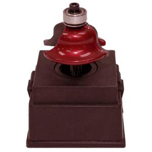 Cherry Tree Toys Roman Ogee Router Bit with Bearing 1/4 Radius 1/4 Shank