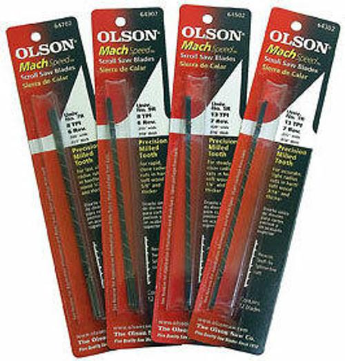 Olson Saw Olson Mach Speed Scroll Saw Blades