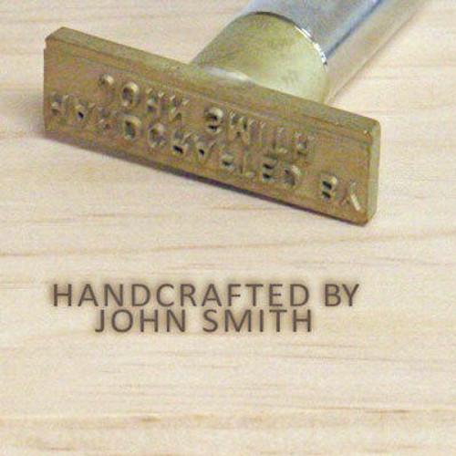 Wall Lenk Makers Mark Electric Branding Iron 3/16