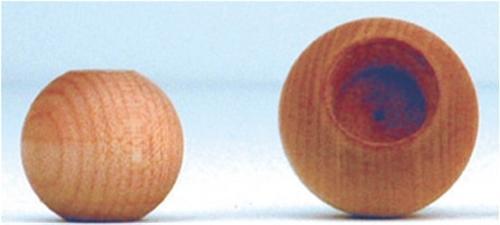 Cherry Tree Toys 1 Diameter Dowel Cap