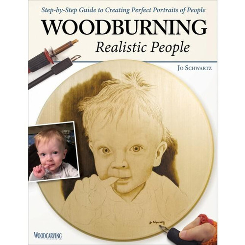Fox Chapel Publishing Woodburning Realistic People