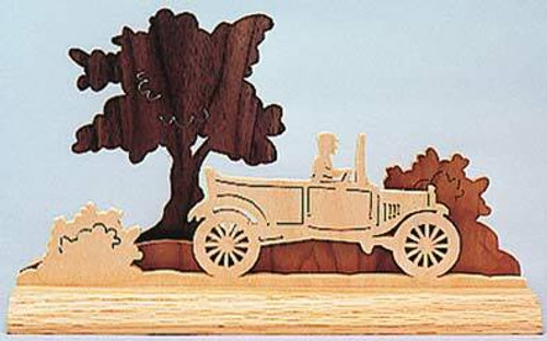 Wildwood Designs Dimensional Auto Scroll Saw Pattern