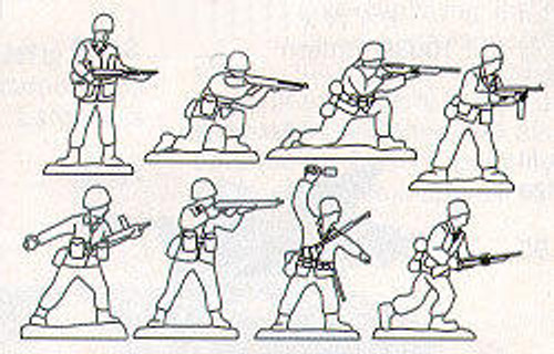 Wildwood Designs WWII Soldiers Scroll Saw Pattern