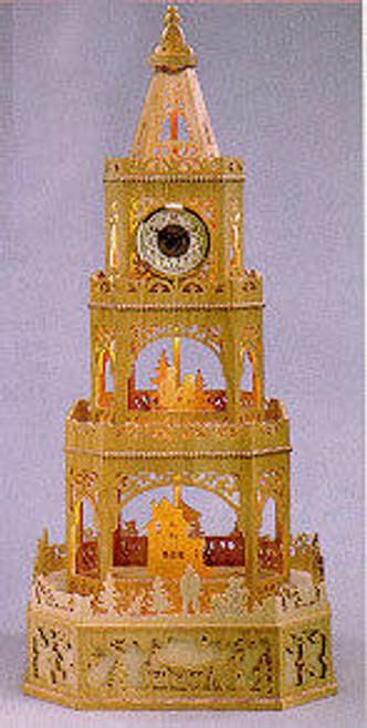 Wildwood Designs Victorian Winter Scroll Saw Clock Pattern