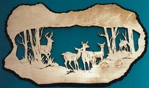 Wildwood Designs Deer Herd Scroll Saw Pattern