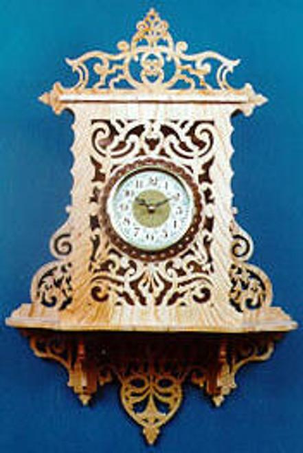 Wildwood Designs Wall Clock Scroll Saw Pattern