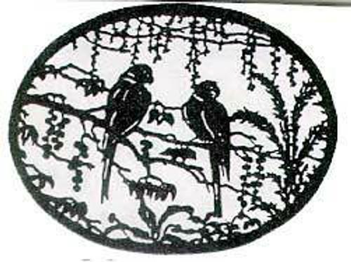 Wildwood Designs Lovebirds Scroll Saw Pattern