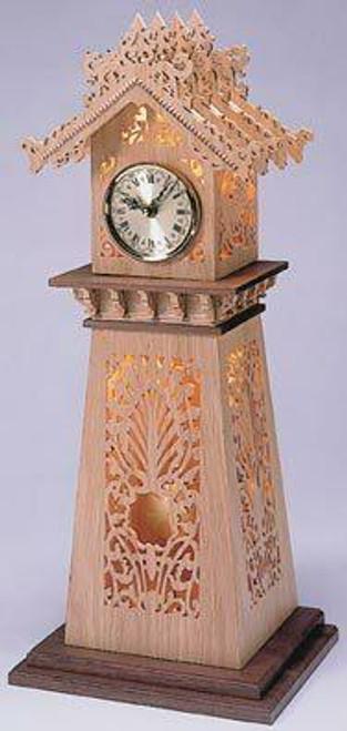 Wildwood Designs Dragon Scroll Saw Clock Pattern