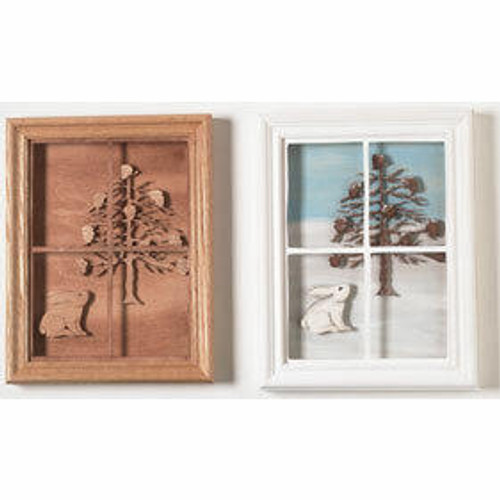 Wildwood Designs Bunny in the Window Scroll Saw Pattern