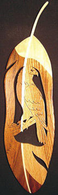 Perched Eagle Feather Plan