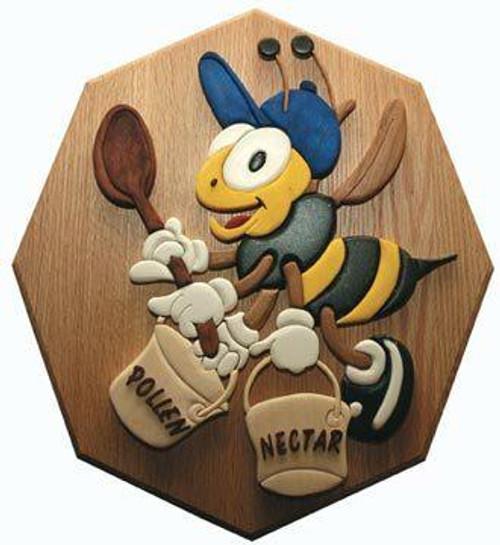 Wildwood Designs Pollen Bee Intarsia Plan