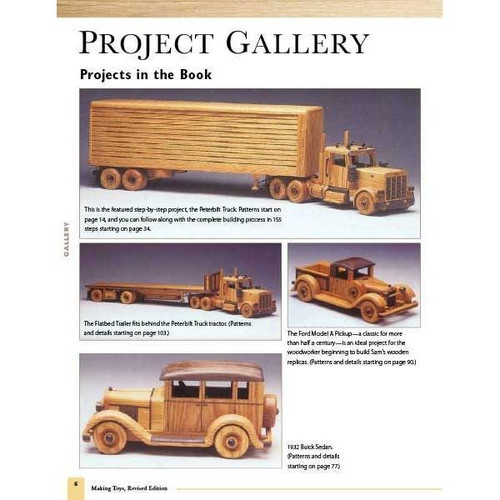 Making Toys Heirloom Cars and Trucks in Wood Revised Edition