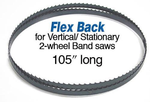 Olson Saw Olson Flex Back Band Saw Blade 105 X 1/4 6 Skip