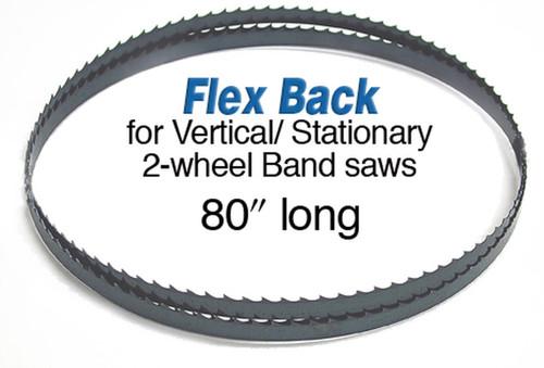 Olson Saw Olson Flex Back Band Saw Blade 80 inch X 3/16 4tpi