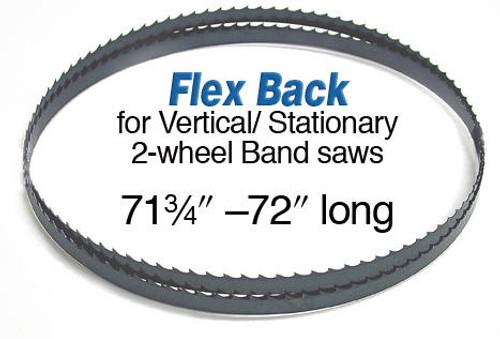 Olson Saw Olson Flex Back Band Saw Blade 72 1/2 x 1/4 x 4 Skip