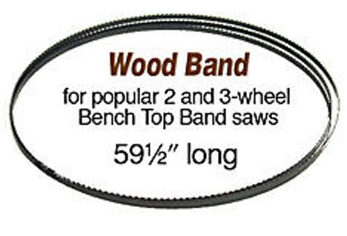 Olson Saw Olson Wood Band Saw Blade 59 1/2 X 1/4 6 tpi