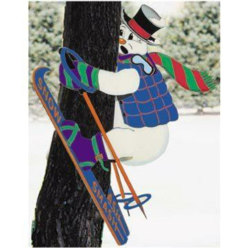Let the sawdust fly as you build a humorous display with this Sherwood Snow Smash Woodworking Plan.