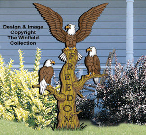 Winfield Collection American Eagles Woodworking Plan