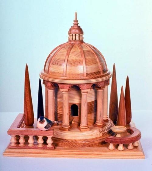 Italian Birdhouse Woodworking Plan