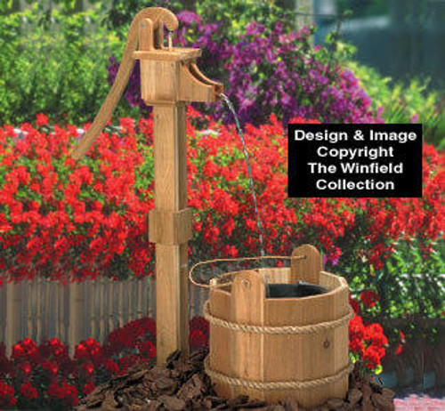 Winfield Collection Old Pump and Wash Tub Woodworking Plan