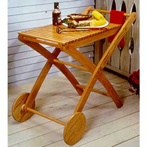 Party Time Cart Woodworking Plan