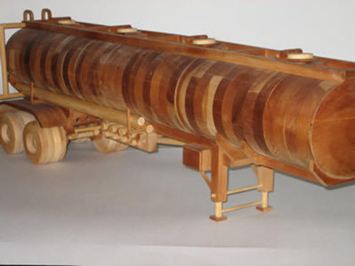 Gatto Plan Supply Oval Tanker Woodworking Plan