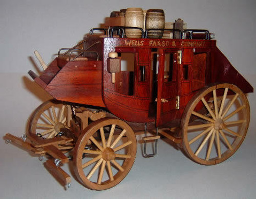The Stagecoach Woodworking Plan would be a beautiful masterpiece to display on your shelf or gifted to a loved one.