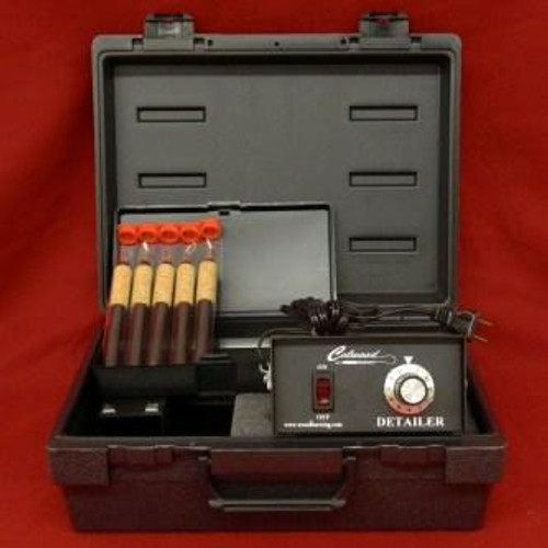 You'll enjoy woodburning with this amazing kit. The detailer kit comes with 5 fixed tip pens and more.