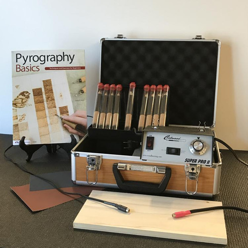 Colwood Super Pro II Deluxe Woodburning Kit Fixed Tip