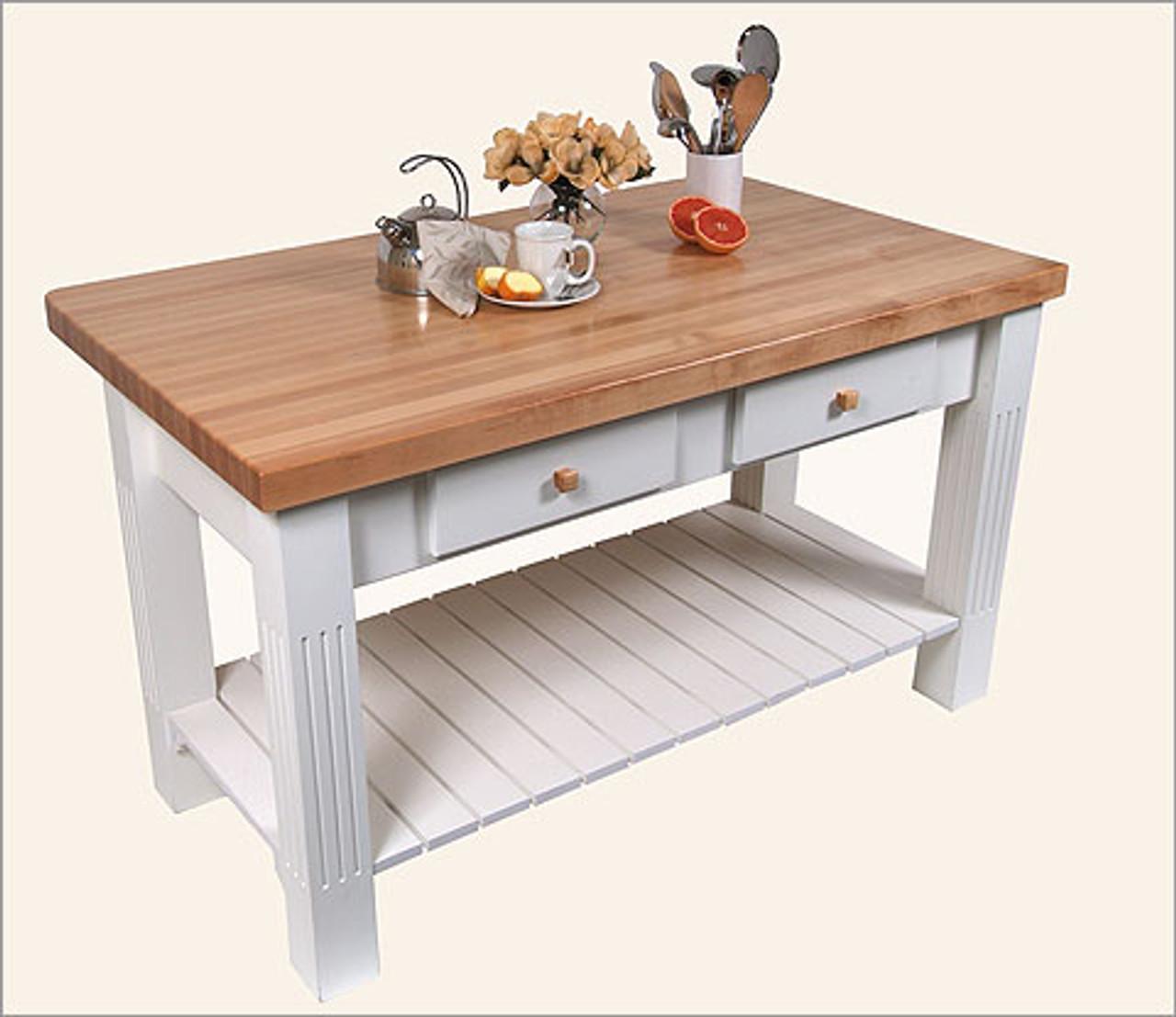 Grazzi Kitchen Island Table