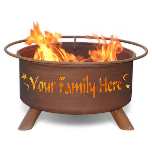 Personalized Outdoor Fire Pit