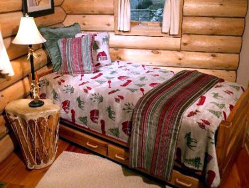 Denali Moose Camp Bedspreads