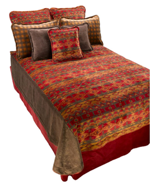 Denali Earth Spirit Bedspread