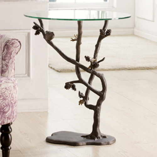Bird & Pinecone Table | 33491
