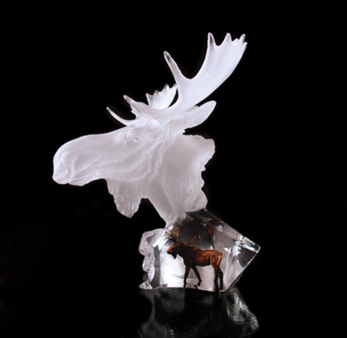 "Starlite Originals ""Dominion"" Moose Sculpture by Kitty Cantrell"