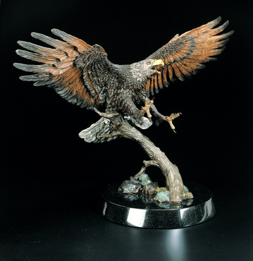 "Starlite Originals ""The Creator's Messenger"" Eagle Sculpture"