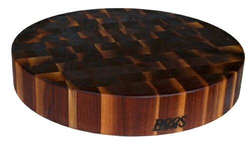 John Boos Solid Walnut Chopping Block